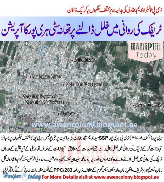Haripur City Police action