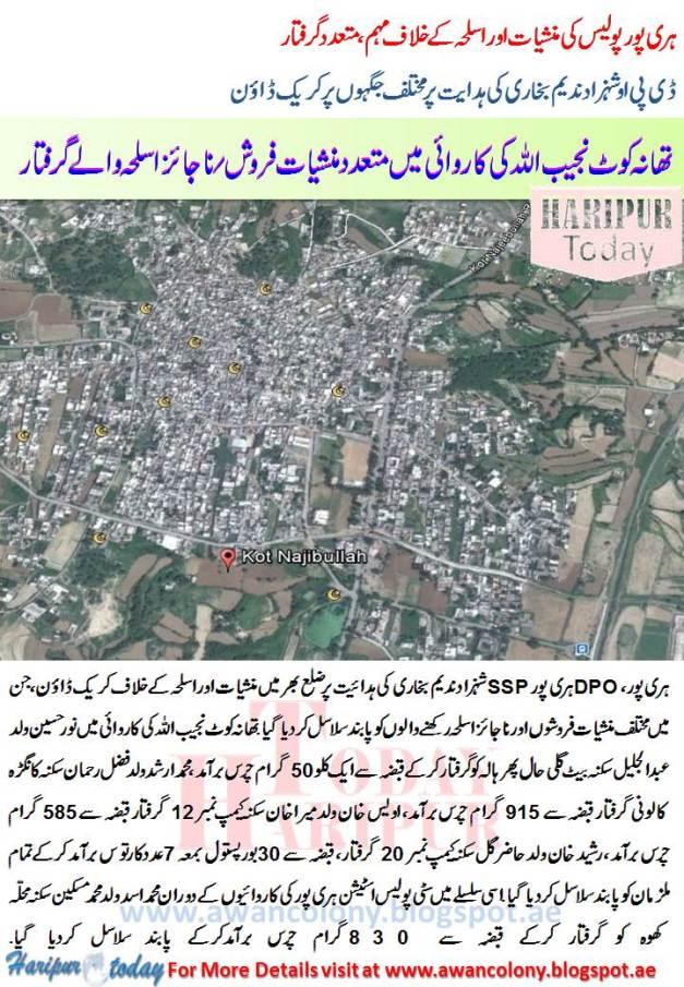 Haripur Koat Najeeb Ullah Police