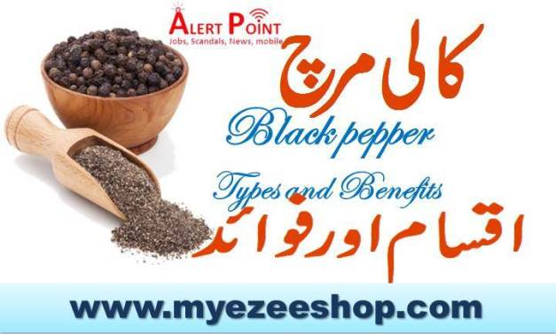 Black pepper Types and Benefits 1