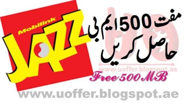 Jazz offer 500 mb 1