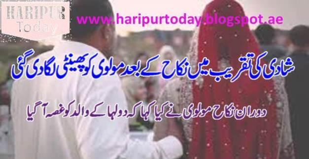 شادی کی تقریب میں نکاح کے بعد مولوی کو پھینٹی لگادی گئی 1